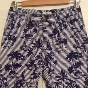 Vineyard Vines palm printed twill pants